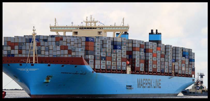 transporte de mercancias marítimo