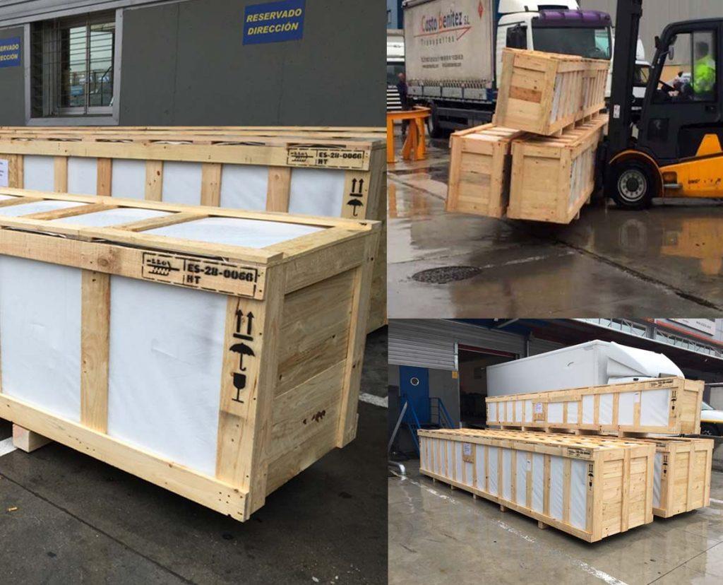 10000 kilos de tuberías destino guinea