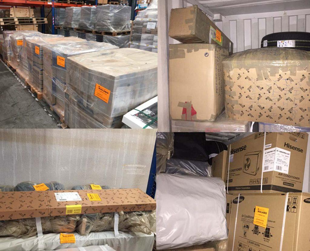 servicio de transporte de mercancías a guinea ecuatorial grupaje