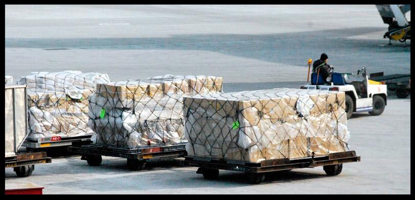 carga aerea desde china