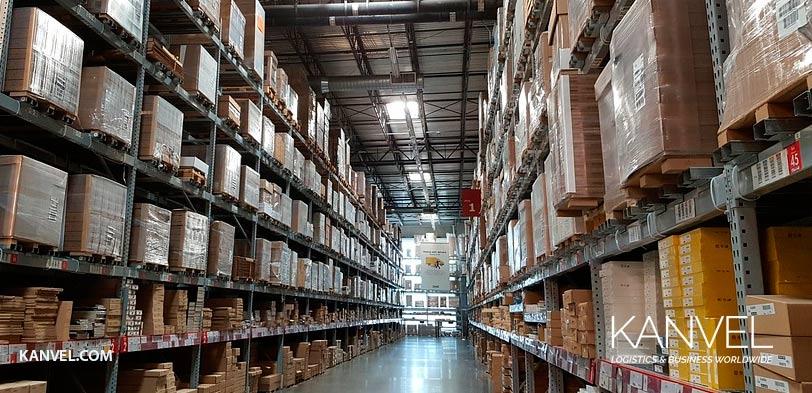 sistemas de almacenamiento logistica