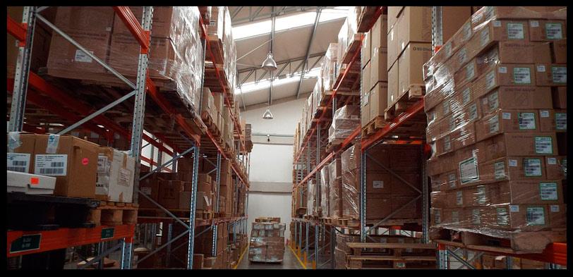 almacenamiento de mercancias