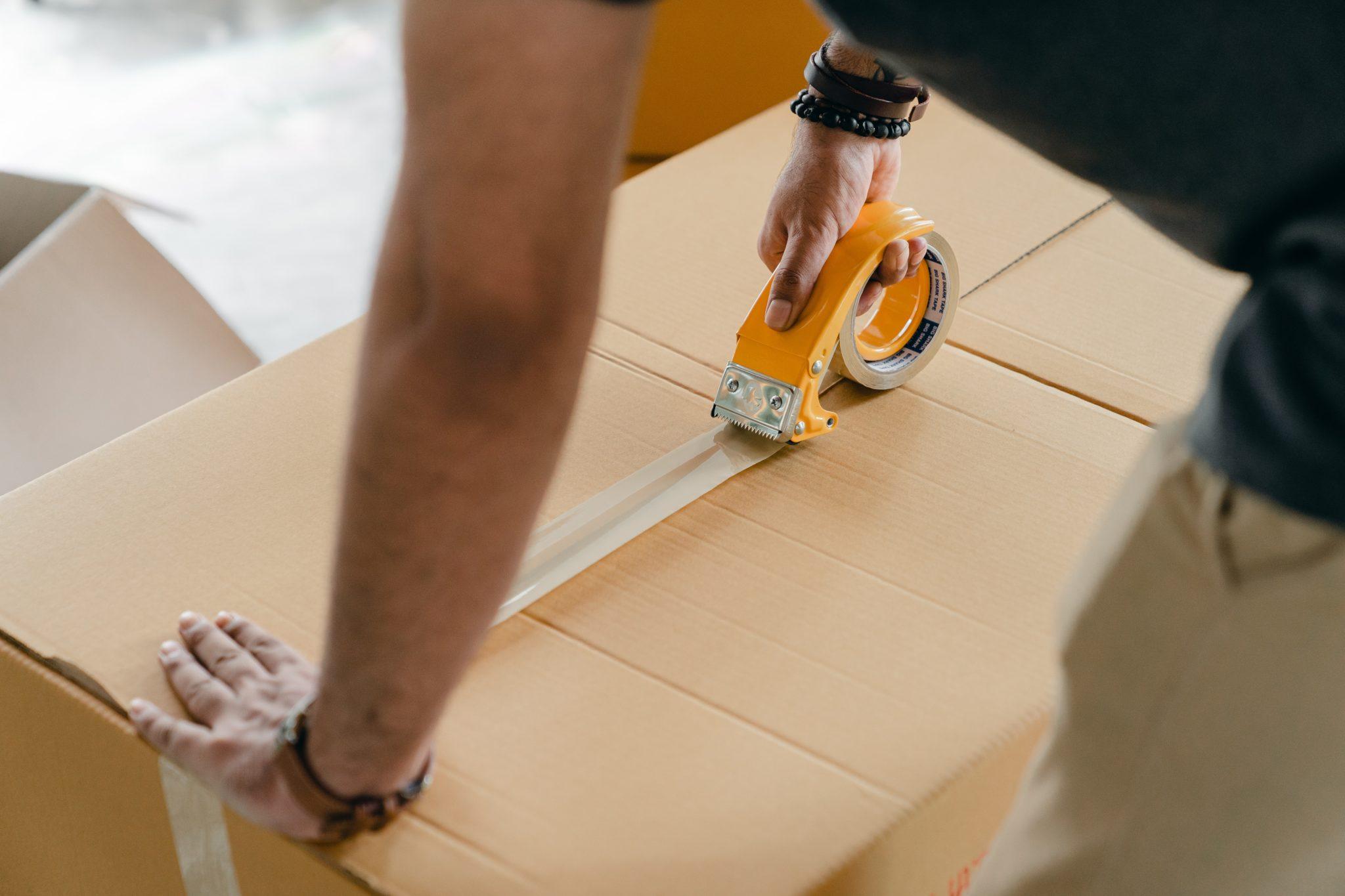 embalaje de mercancías